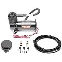 TA TECHNIX/Viair 380C - Compresor de pistón (12 V), color negro