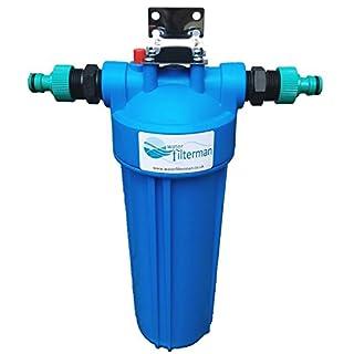 AquaHouse Koi Teich Dechlorinator, Wasserfilter für Fischteiche bis 99% Chlorentfernung Leitungswasserfilter