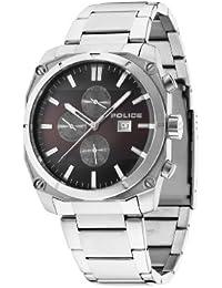INTELIHANCE.  14099JS/12M - Reloj de cuarzo para hombre, con correa de acero inoxidable, color plateado