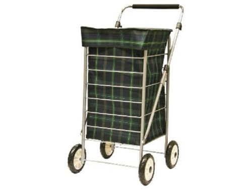 Sabichi 4-Wheel Shopping Trolley