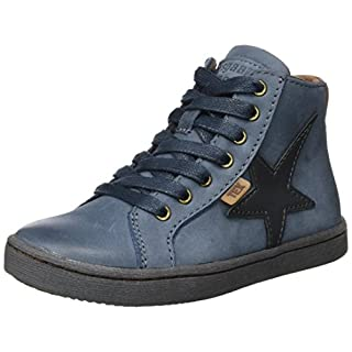 Bisgaard Unisex-Kinder Schnürschuhe Hohe Sneaker, Blau (621 Blue), 30 EU