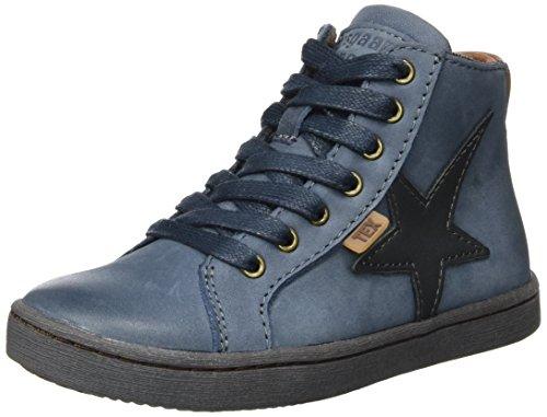 Bisgaard Unisex-Kinder Schnürschuhe Hohe Sneaker, Blau (621 Blue), 32 EU