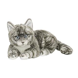 ACP 28179015–American Kurzhaar Katze liegend–25cm–Grau