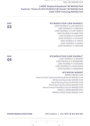 Bighit BTS Bangtan Boys - BTS Memories of 2018 DVD 4DVD+226p