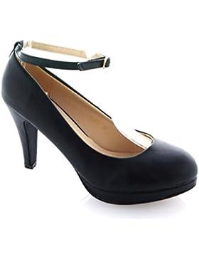 [Sponsorizzato]King Of Shoes - Scarpe con Tacco Donna