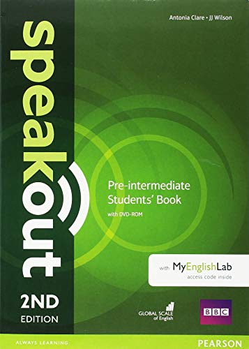 Speakout 2nd Edition Extra Pre-Intermediate Students Book/DVD-ROM/MyLab/Study Booster Spain Pack