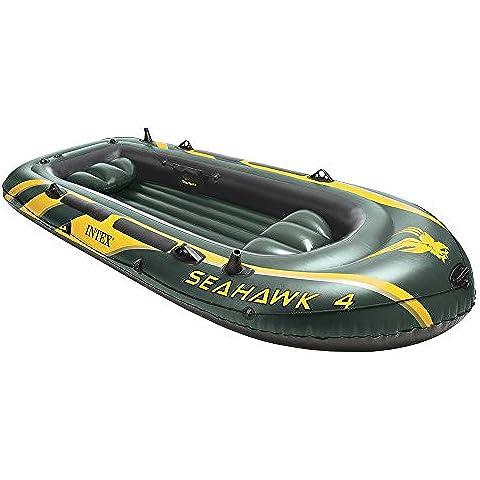 Intex Seahawk 4 - Barco hinchable, 351 x 145 x 48 cm