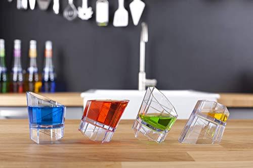 Vacu Vin Multi Barmaß, Kunststoff, transparent, 3X 9,5X 13 cm 3 Oz-jigger