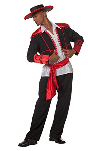 Herren Kostüm Spanier Torero Flamenco Tänzer Karneval Fasching Gr.60