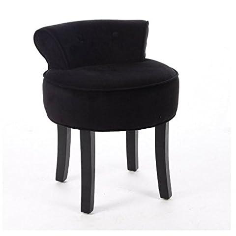 Yopih Coiffeuse Tabouret Assise Chaise Chambre à coucher élégante Accessoires Beauté Tabouret