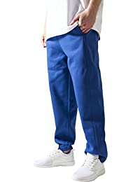 Urban Classics Herren Sporthose Sweatpants-Blau (royal) ,XL