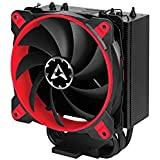 ARCTIC Freezer 33 TR - Semi-passiver Tower CPU Luftkühler, Prozessorlüfter für Intel und AMD Sockel bis 320 Watt Kühlleistung, Cooler mit 120 mm PWM Lüfter - Leise und Effizient - Rot