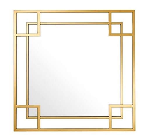 Casa-Padrino-Designer-Luxury-Wall-Mirror-Gold-90-x-H-90-cm-Luxury-Mirror
