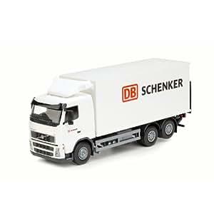 Camion VOLVO FH 3 essieux tolé avec hayon, SCHENKER