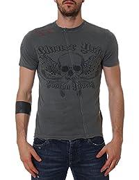 Blauer Homme LUH02174A04597961 Gris Coton T-Shirt