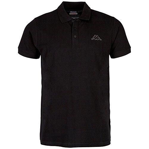 Kappa Polo Peleot Shirt, 005 schwarz, XXL, 303173