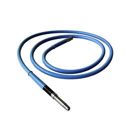 MXBAOHENG 4MMX 1,8m Faser Kabel zur Lichtquelle Endoskop Wolf/feuerwehrkupplung/Anschluss Optional