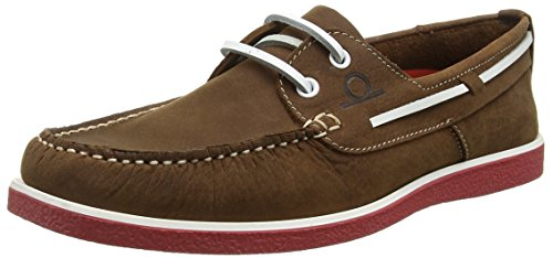 Chatham Marine Armada, Chaussures bateau Homme Marron - Brown (Brown/Red)