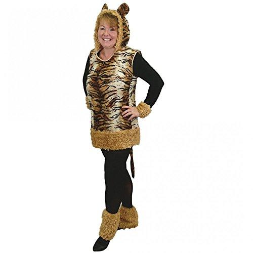 Krause & Sohn Kostüm Tiger Lady Leyla, Gr -