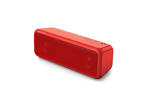 Sony SRS-XB3 Extra Bass Portable Wireless Speaker with Bluetooth and NFC (Red)