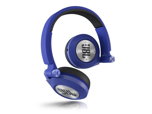 JBL E40 BT Cuffie Stereo Bluetooth, Imbottite, Morbide, Ricaricabili, Wireless, Compatibili con Dispositivi Apple iOS e Android, Blu