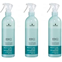 Schwarzkopf BC Bonacure Moisture Kick Spray Conditioner Set 3 x 400ml
