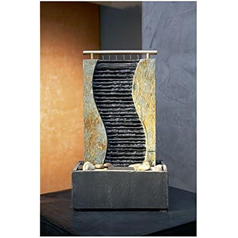 Design Slate fontana di pietra fontana Guan Feng Shui Water Wall