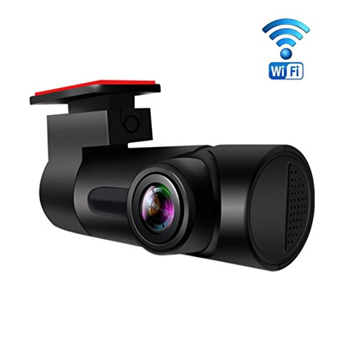 Sokache wifi car dash cam mini hide night camera hd 1080p registratori di guida 152 ° angolo costruire g-sensor parking monitor registrazione loop,black,s