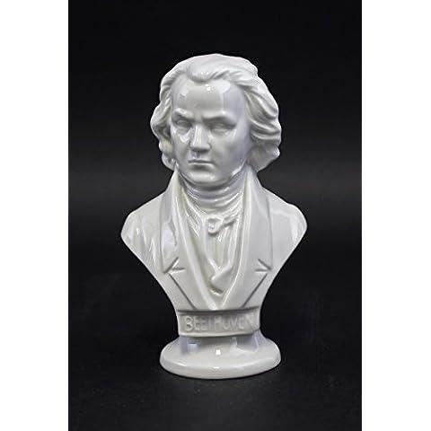 Porcelana-busto de Beethoven