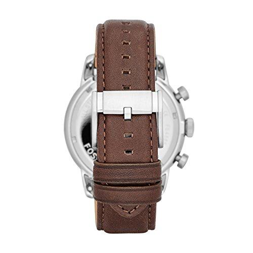 Fossil Herrenuhr XL Townsman Chronograph Quarz Leder FS4865 - 3