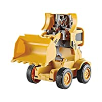 NAKELUCY Ngineering Truck Construction Vehicles Toys Model Car Inertial Vehicle Toy Deformation Engineering Truck Play Vehicles Cars Party Favors Birthday For Children Kids great