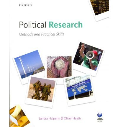 [( Researching Politics: Methods and Practical Skills By Halperin, Sandra ( Author ) Paperback Mar - 2012)] Paperback