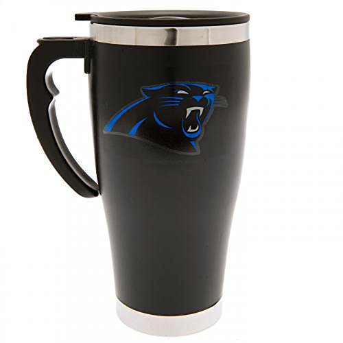 Carolina Panthers - Executive Aluminium Travel Mug - Carolina Panthers Travel Mug
