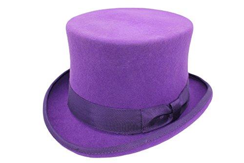 VIZ VIZ Unisex Damen/Herren Event, 100% Wolle, handgefertigt, Lila ! Gr. M, violett