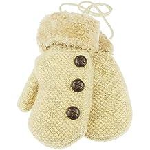 Manoplas de nieve con forro polar para niños de 1 a 3 años 4aac63fced8