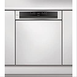 WHIRLPOOL - Lave-vaisselle 60cm 14 couverts a++ intégrable avec bandeau apparent inox - POWERCLEAN PRO - WCBO3T123PFI