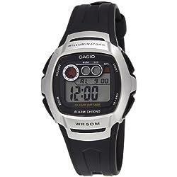 Casio W-210-1AVDF (I063) - Reloj de pulsera hombre, resina, color negro