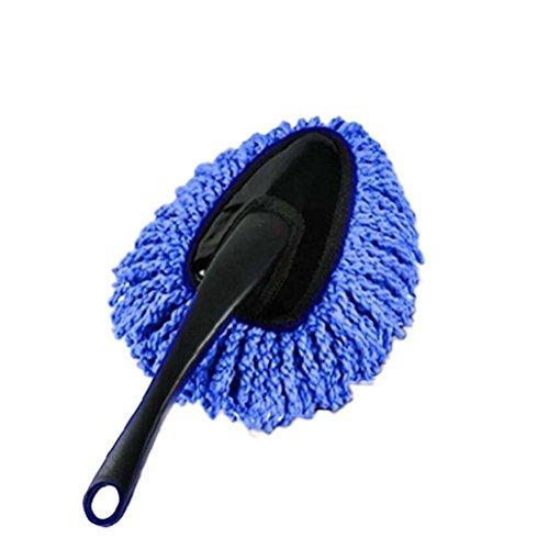 Katech détachable de voiture Portable de brosse de lavage de voiture Cire Serpillère Mini souple Brosse de nettoyage multifonction poussière Outil de nettoyage