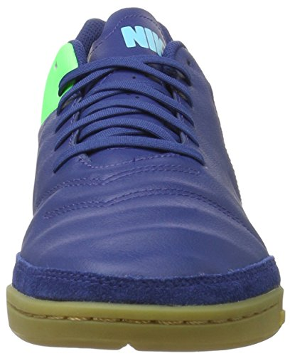 Nike 819215-443, Chaussures de Football en Salle Homme Bleu (Coastal Blue/Rage Green/Polarized Blue)