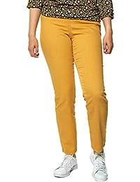 Amazon.fr   jeans - Jaune   Leggings   Femme   Vêtements 73ad28971b3