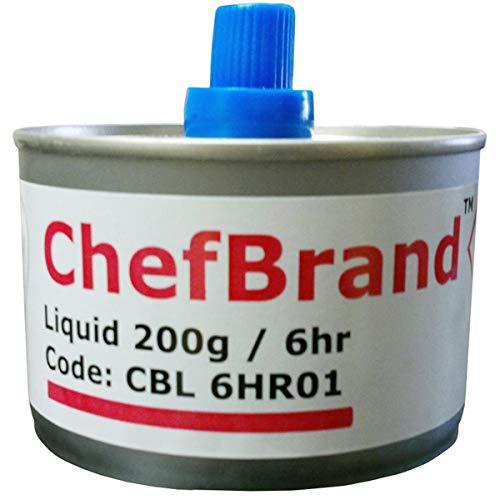 Fusion Chafing Stunde Kraftstoffpumpe 6-Box von 24| SZR Docht Kraftstoff für Chafing Dish Chafing Dish Fuel