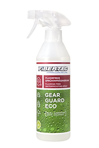 Fibertec Gear Guard Eco Imprägniermittel, Transparent, 500 ml
