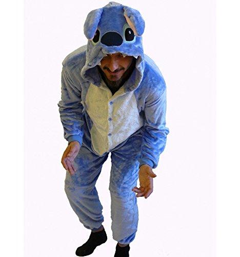 Imagen de stitch disfraz pijama adulto  s