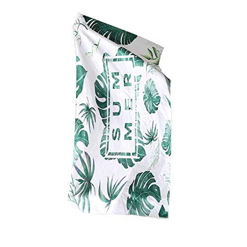 Lidahaotin Blumenmuster weiche Superfine Faser-Quadrat Strandtuch Bunte atmungsaktiv Badeduschtuch #11 -
