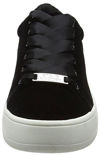 Steve Madden Ladies Bertie-v Sneaker Nero (nero)