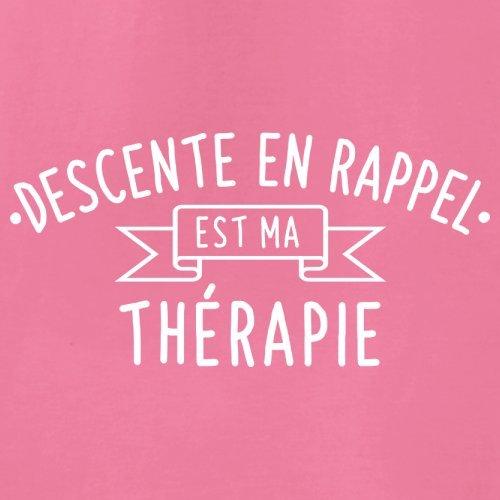 La descente en rappel est ma thérapie - Femme T-Shirt - 14 couleur Azalée