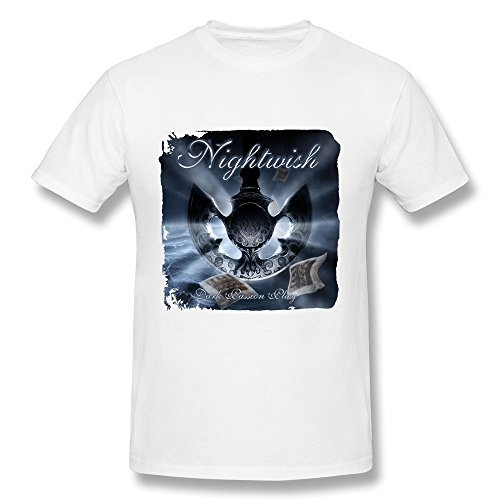 SchrittGlucklich Men's Dark Passion Play Nightwish T-Shirts (XXX-Large)