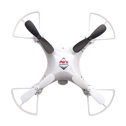 3D Roll RC Quadcopter, Pinron Mini Nano RTF Quad 3D Roll 2.4G 6-Axis Headless Mode Drone Copter UFO UAV Aircraft Helicopter with 4GB Memory Card +LED Light + HD 720P 2.0MP Real Time Aerial Camera (Rtf-mini-quad)