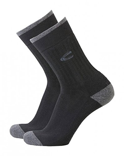 camel Sport Socken 2er-Pack 6510, schwarz, 43-46 (Active Lifestyle-bekleidung)