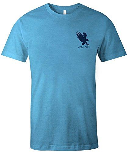 Auburn Damen T-shirt (Image One NCAA Auburn Tigers Erwachsenen-T-Shirt mit Azteken-Muster, kurzärmlig, Trimix, XXL, Aqua)